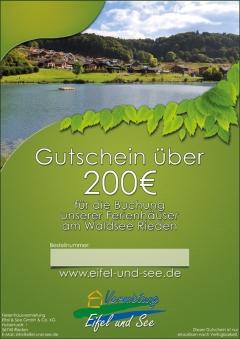 Gutschein 200 €