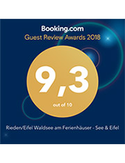 booking review awards 2018