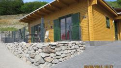 Ferienhaus NINA - Wohnfläche 100 qm - Kamin - Sauna - VDSL/WLAN im Feriendorf Rieden Eifel.